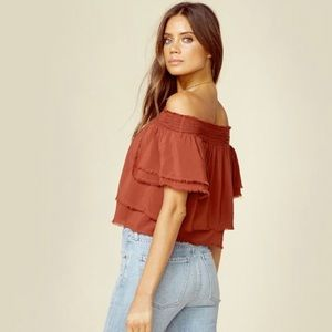 Blue Life Tops - Blue Life's Show Off the Shoulder Top